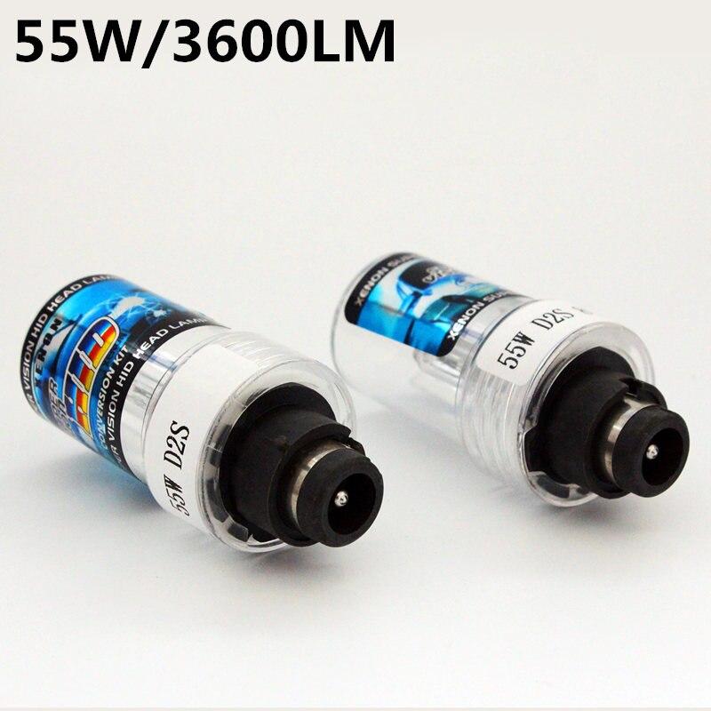 Auto Care 2 pieces D2S D2C 55W 12V Replacement HID Xenon Bulbs Lamp Bulb For Car Headlight 3000K 4300K 5000K 6000K 8000K 12000K 2 pieces xenon bulbs car lamp d4r 4300k 42406wx 6000k 12v 35w