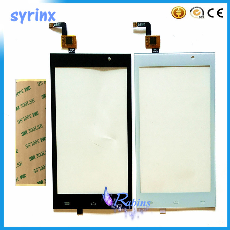 4.5 Inch Touch Sensor Panel For Micromax A104 Touch Screen Digitizer Front Glass Lens Touchscreen For Micromax A104 3m Sticker
