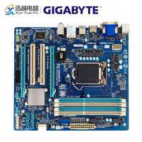Gigabyte GA-B75M-D3H carte mère de bureau B75M-D3H B75 LGA 1155 pour Core i7 i5 i3 DDR3 32G micro-atx carte mère d'origine utilisée