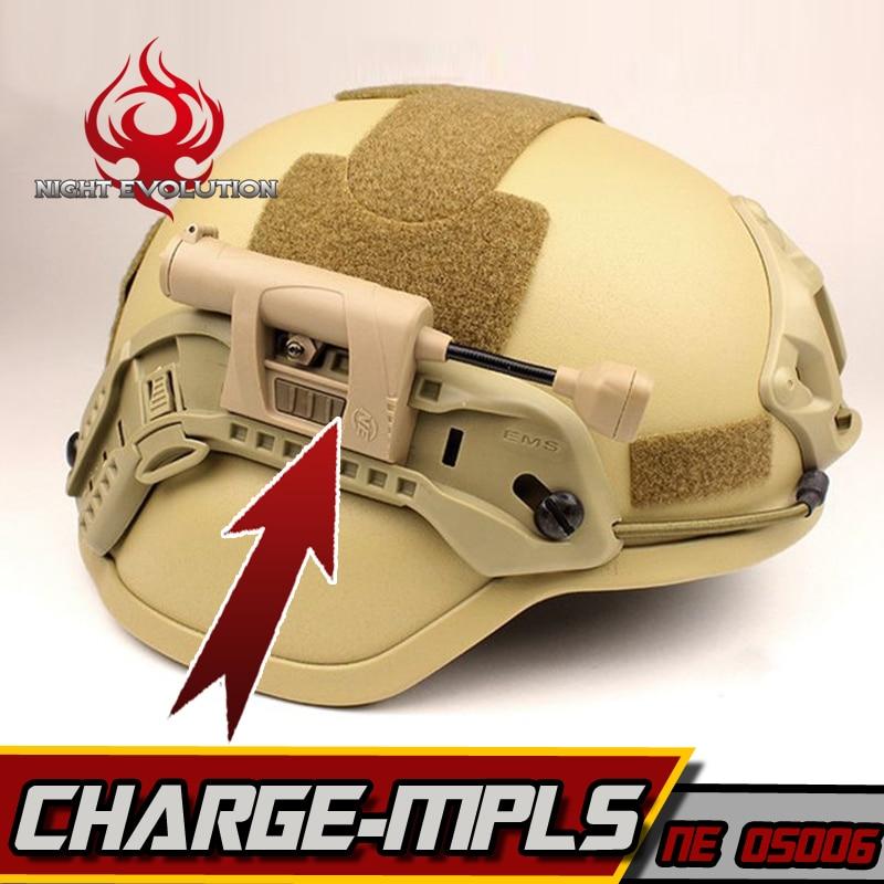 Night Evolution Headlamp Military Helmet Tactical Light