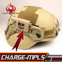 Night Evolution Headlamp Military Helmet Tactical Light Helmet FlashLight IR Laser White Green Red LED lights Combo NE05006