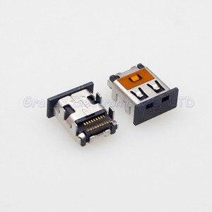 Lot de 10 MINI prises HDMI femelles, 4 pieds DIP 19 broches, Double broche SMT