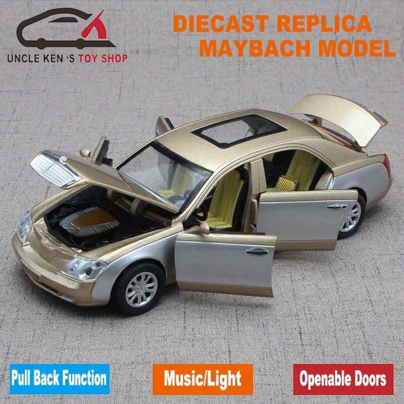 Μήκος 17,5cm μήκους Maybach Diecast Μοντέλο - Οχήματα παιχνιδιών - Φωτογραφία 2