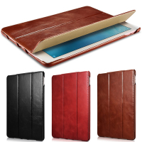 Fashion Ultra Slim Magnetic Smart Case Skin Cover For IPad Pro 9 7 Original Genuine Leather