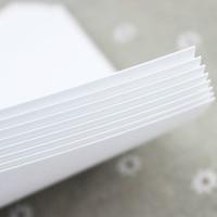 White Cardboard A3 240 315g Art Paper Hard Jams Card Paper 50 Sheets Bag