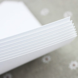 A3 Weiß karton 240/315g kunstdruckpapier festkarte papier 50 blätter/pack