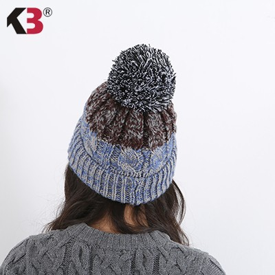 Women\'s Winter Beanie Warm Fleece Lining Thick Slouchy Cable Knit Skull Hat Ski Cap (5)
