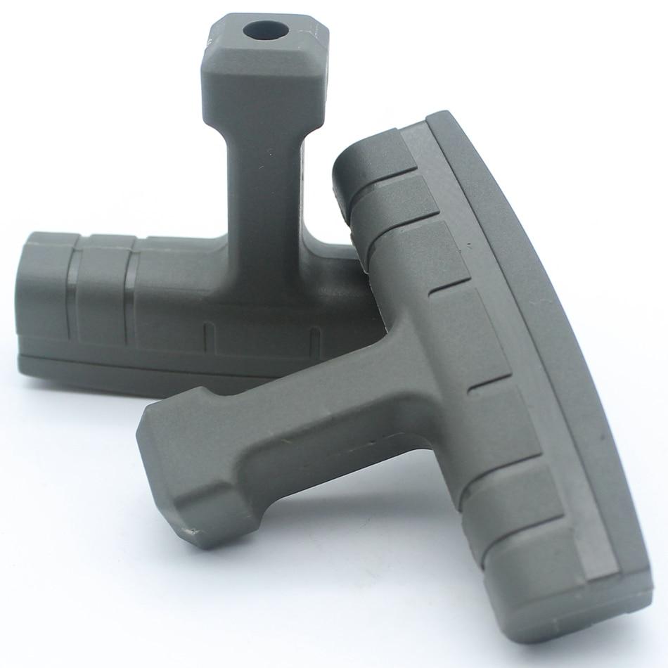 2Pcs/lot Recoil Starter Handle Grip For HUSQVARNA 50 51 55 61 66 266 268 K 272 XP 272K 340 345 346 XP 350 351 353 Chainsaw
