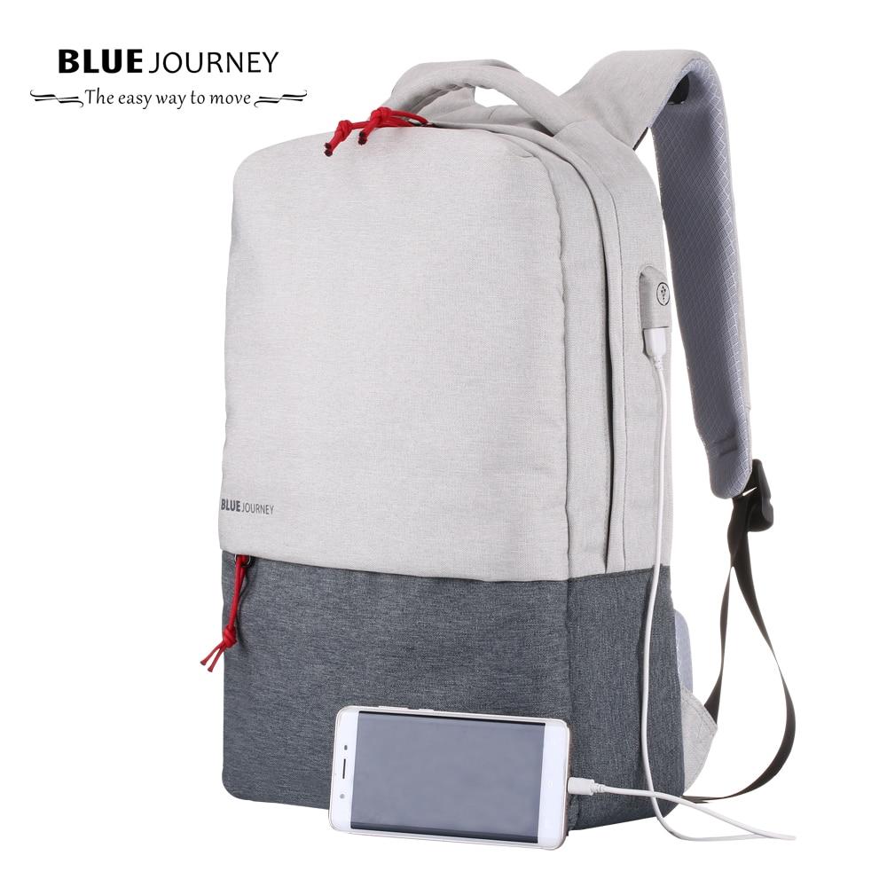 2017 New Canvas Bag Men's Backpack 15.6 Inch Laptop Notebook Mochila for feminina Waterproof luggage Back Pack school mochilas