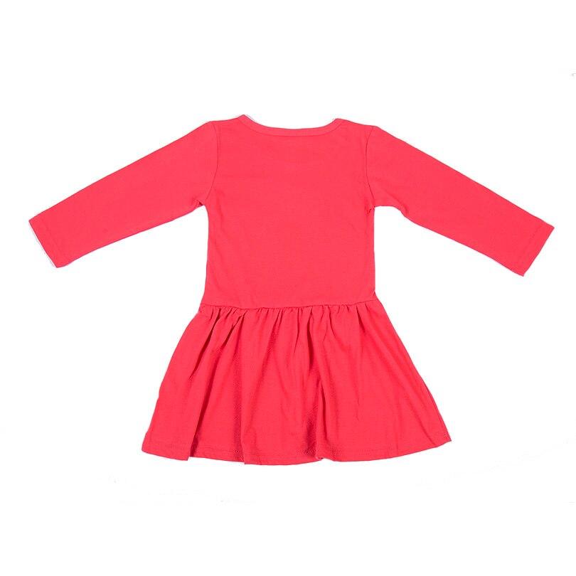 HTB1EcpmsYvpK1RjSZPiq6zmwXXa5 Princess Girls Dress New Fashion summer Cat Print Children Long Sleeve Cartoon baby girl Cotton Party Dresses for kids