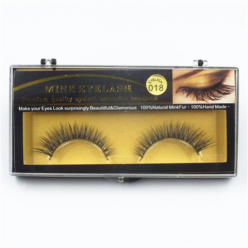 1fa6fd9a3b1 GAM BELLE 1 Pair Mink Eyelashes Natural Long 3D Mink False Eyelashes ...