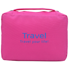 Fashionable Korea waterproof travel cosmetic bags wash male  storage capacity portable unisex