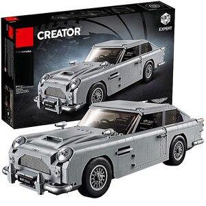 Technic Series 10262 Aston Martin DB5 Set Building Blocks Bricks Children Car Model Gifts Toys Compatible with(China)