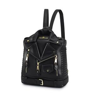 Image 2 - Famous Brand Rucksack Jacket Backpacks Fashion Personalized Leather Backpack Women Designer High Quality Girls School Bags
