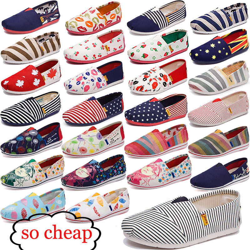 Women's fashion Flat shoes Lazy's espadrilles Women's canvas shoes girl loafers espadrilles Women Flats shoes size 35-44(China)
