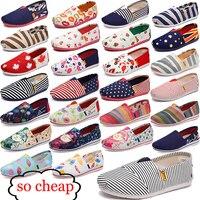 2017 Women's fashion Flat shoes Lazy's espadrilles Women's canvas shoes girl loafers espadrilles Women Flats shoes size 35-44