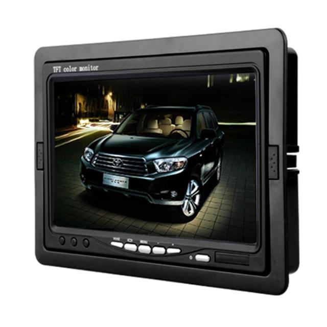 Hotsale nuevo 7 pulgadas TFT LCD de coches reproductor de CCTV opinión posterior del revés del Monitor de la cámara de copia de seguridad Monitor de la cámara de alta calidad