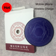 Wireless Charger Qi Universal Fast  for iPhoneX XS MAX For Samsung S8 mobile phone10W Comic Magic Array