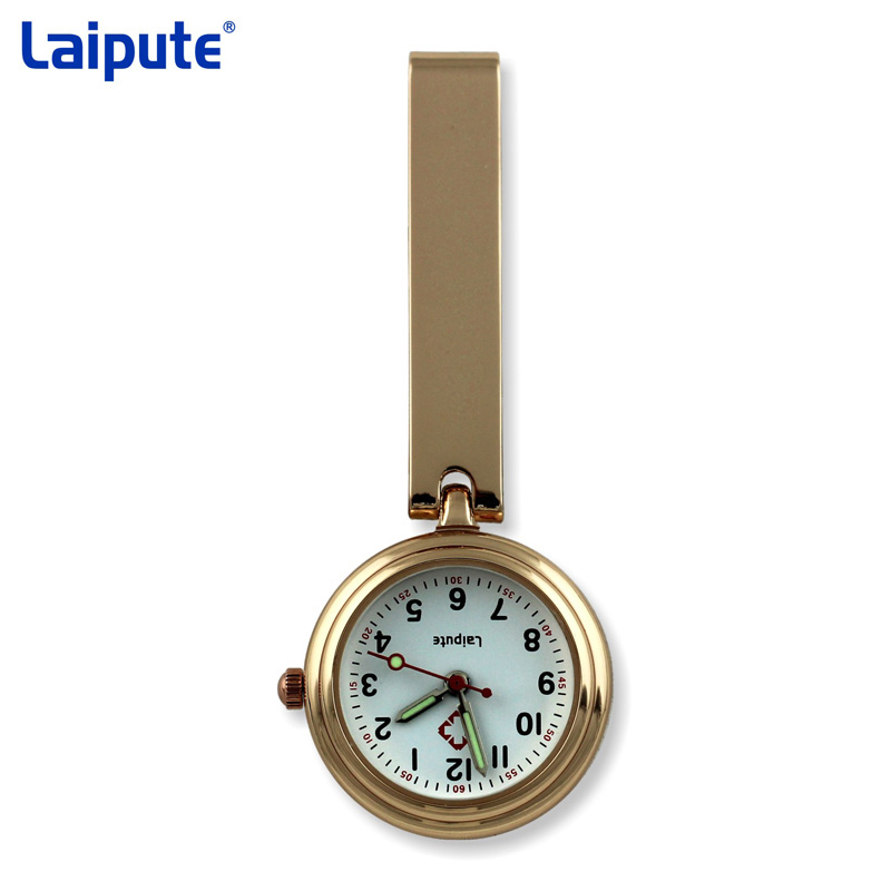 Laipute Brand New Keychain Nurse Watches FOB Doctor Quartz Hanging Pocket Watch Relog Luminous Hands Zakhorloge Montre old antique bronze doctor who theme quartz pendant pocket watch with chain necklace free shipping
