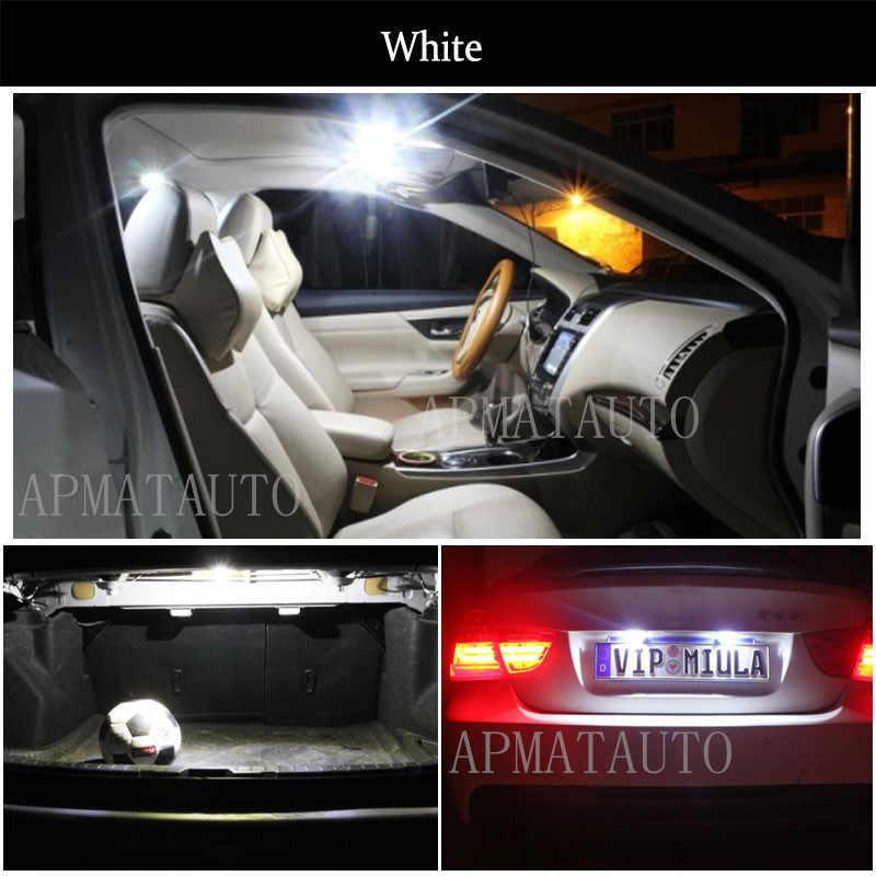 2 x Yeni C5W Lisans Numarası Plaka Işık Ampul Canbus 36mm LED Volkswagen VW Golf 4 5 Passat 3B 3BG 3C CC Polo 9N T5 Eos