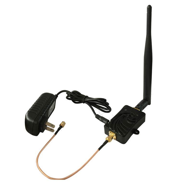 New ! 2pcs 5W 5.8Ghz Wifi Wireless Broadband Amplifier plug and play 802.11b/g/n high Power Range Signal Booster for wifi router 2 4ghz 8w wlan wifi wireless broadband amplifier signal booster for rc radio extend the distance