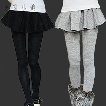 Hot Sale Balck/Dark grey Sweet Pantskirt/ Leggings For 1/3 .DOD.AS.DZ.BJD Doll Clothes image