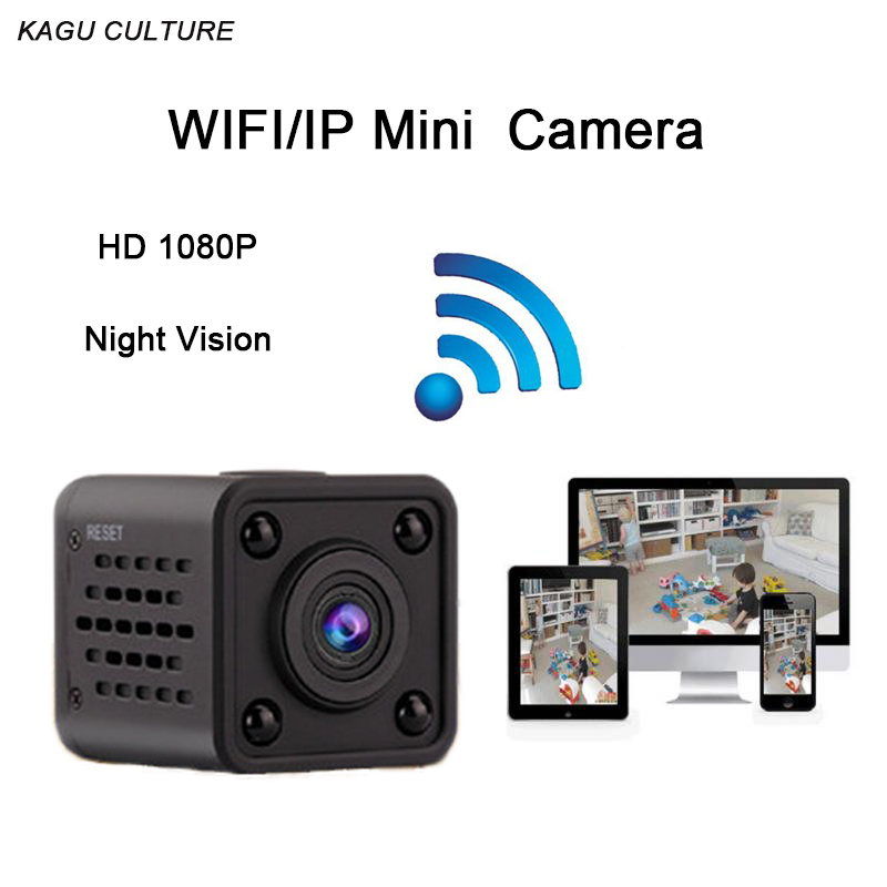 цена на HD 1080P Mini Wifi Camera Wireless Night Vision Cam Wireless IP/AP Camera Remote Recording Video Micro Camcorder Car Sport DV