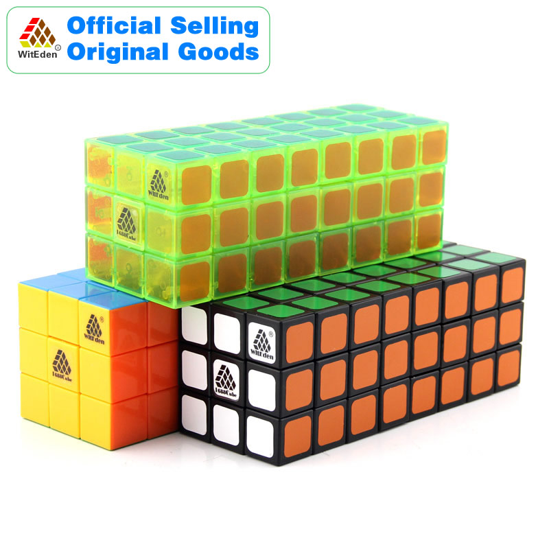 WitEden 3x3x8 Cuboid Cube Magique Symétrique 1C 338 Cubo Magico Professionnel Vitesse Neo Cube Puzzle Kostka antistress Fidget Jouets