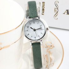 Top Brand Exquisite Small Dial Retro Leather Womens Watches  Casual Charm Ladies Simple Style Wristwatches Fashion Women Clock