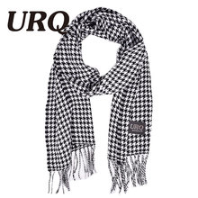 Fashion Scarf for Man Woman houndstooth Scarves Winter Bufandas Plaid Men s Women s Winter Scarves