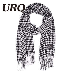 URQ Scarf for Plaid Men's Women's Winter Cashmere Scarfs