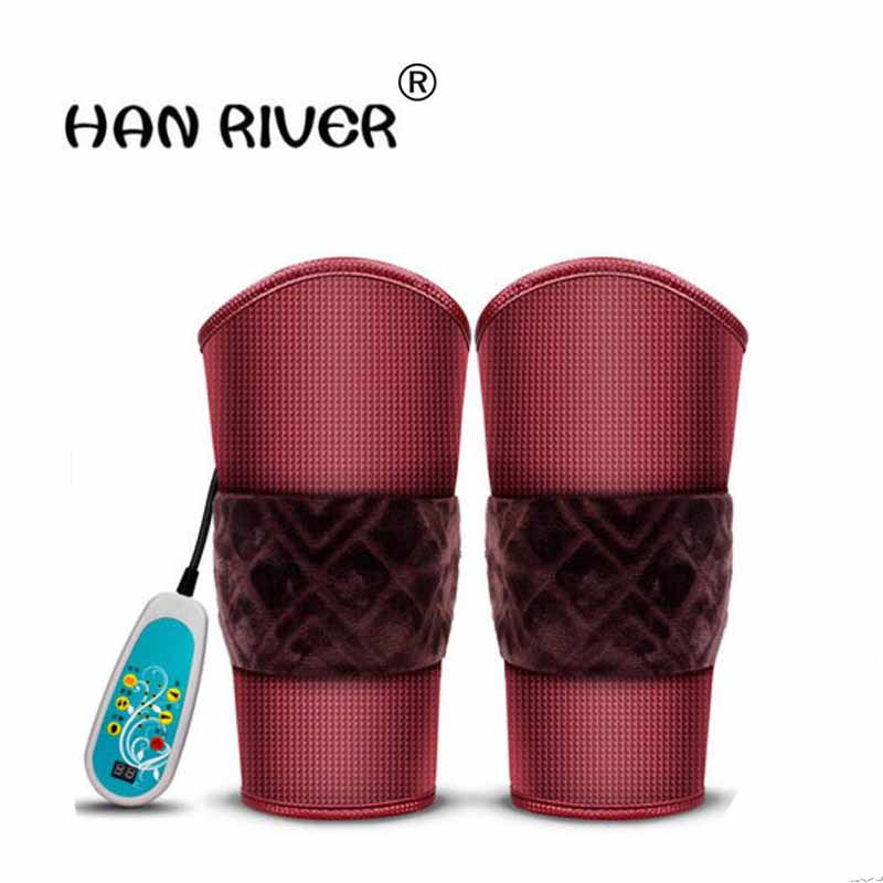 HANRIVER Ms electric heating knee warm electric heating knee male spontaneous heat joints more warm winter massager cashmere knee warm old product joints cold wool winter spontaneous hot upset elderly men and women lengthen your knees