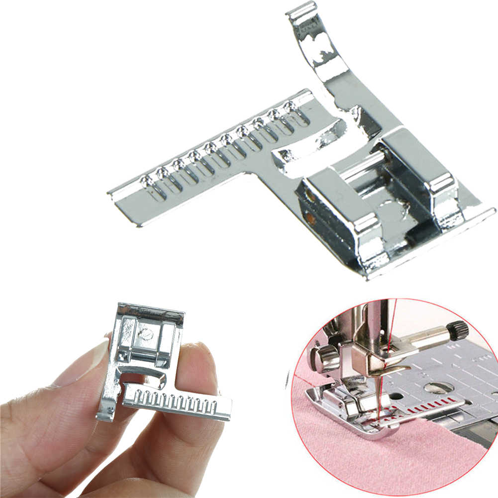High Quality Multifunction Household Sewing Machines with Ruler for Presser Foot Sewing