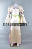 Эмблема огня: путь сияние Радиант рассвет Линн Learne принцесса Serenes лес платье Косплэй костюм F006