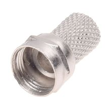 цена на 20Pcs CCTV RG6 F-Type Twist-On Coax Coaxial Cable RF Connector Male
