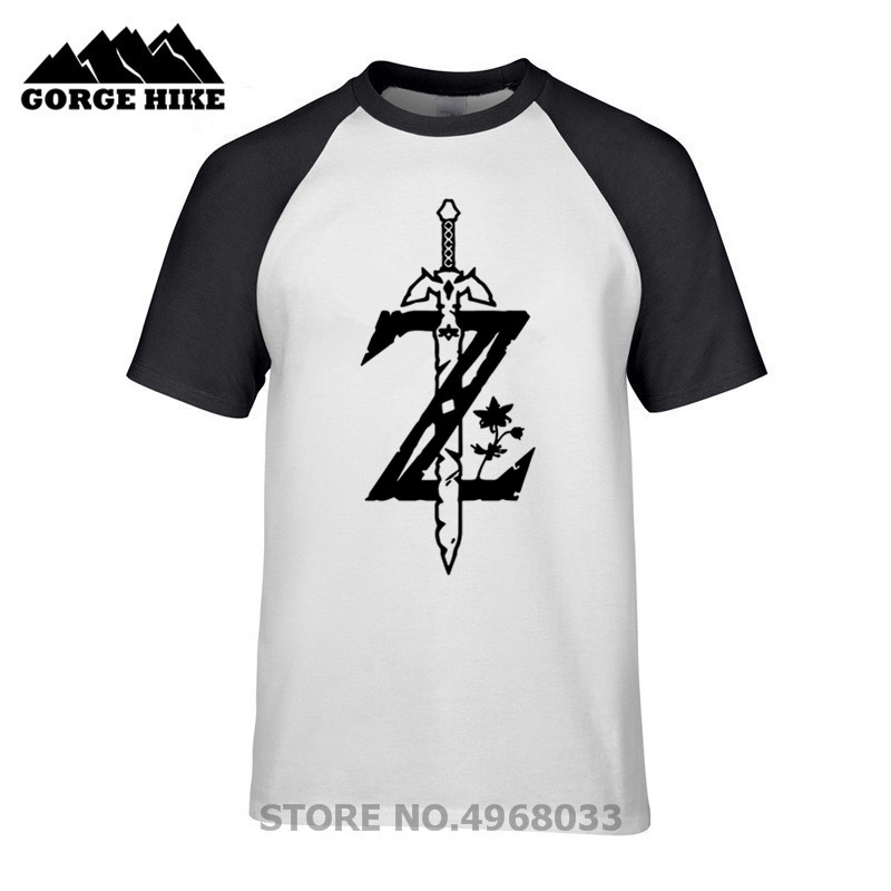 2019 Faction Geek Design Legend Of Zelda Quality Cotton T Shirts Hipster Xmas Gifts Personalized T Shirt Boys Girls Streetwear