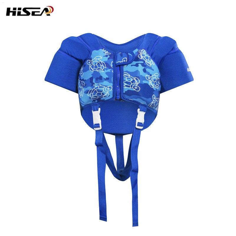 Hisea Kids Surviver спасательный водный жилет спортивный спасательный жилет EPE большой пенопласт плавучие лодки Сноркелинг дрейфующий дети спасательный жилет