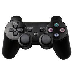 JIELI Беспроводной Bluetooth одноцветное Цвет контроллер для sony Игровые приставки Dualshock 3 PS3 контроллер вибрации геймпад с посылка