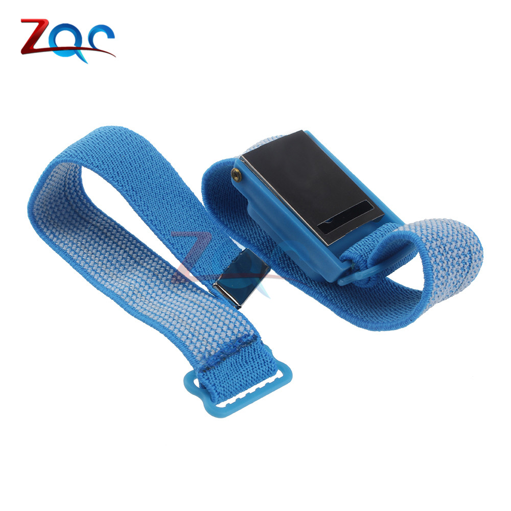 Hand & Power Tool Accessories Power Tool Accessories Kind-Hearted Free Shipping Anti Static Anti-skid Esd Adjustable Discharge Wrist Strap Band Grounding Bright In Colour