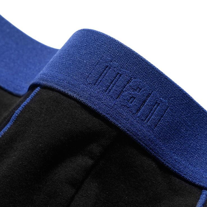 Men 39 s underwear cotton patchwork boxer Plus size boyshort loose breathable boxer 515 in Boxers from Underwear amp Sleepwears