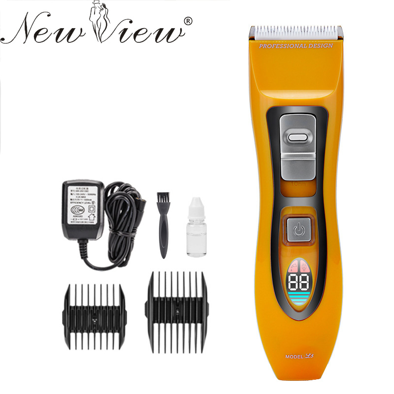 NewView Electric Hair Clipper Rechargeable LCD Hair Trimmer Professional Haircut Machine Hairclipper Barber Salon Hairdressing newview electric hair trimmer rechargeable hair clipper professional haircut machine barber salon beard trimmer hairclipper
