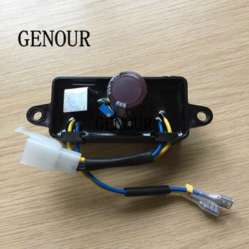 2.8KW GENERATOR AVR for GASOLINE GENERATOR 2KW 2.8KW 168F 170F,SINGLE PHASE AVR Automatic Voltage Regulator Rectifier 250V 330uf generator parts rsk1001 rotating rectifier module bridge rectifier generator accessory