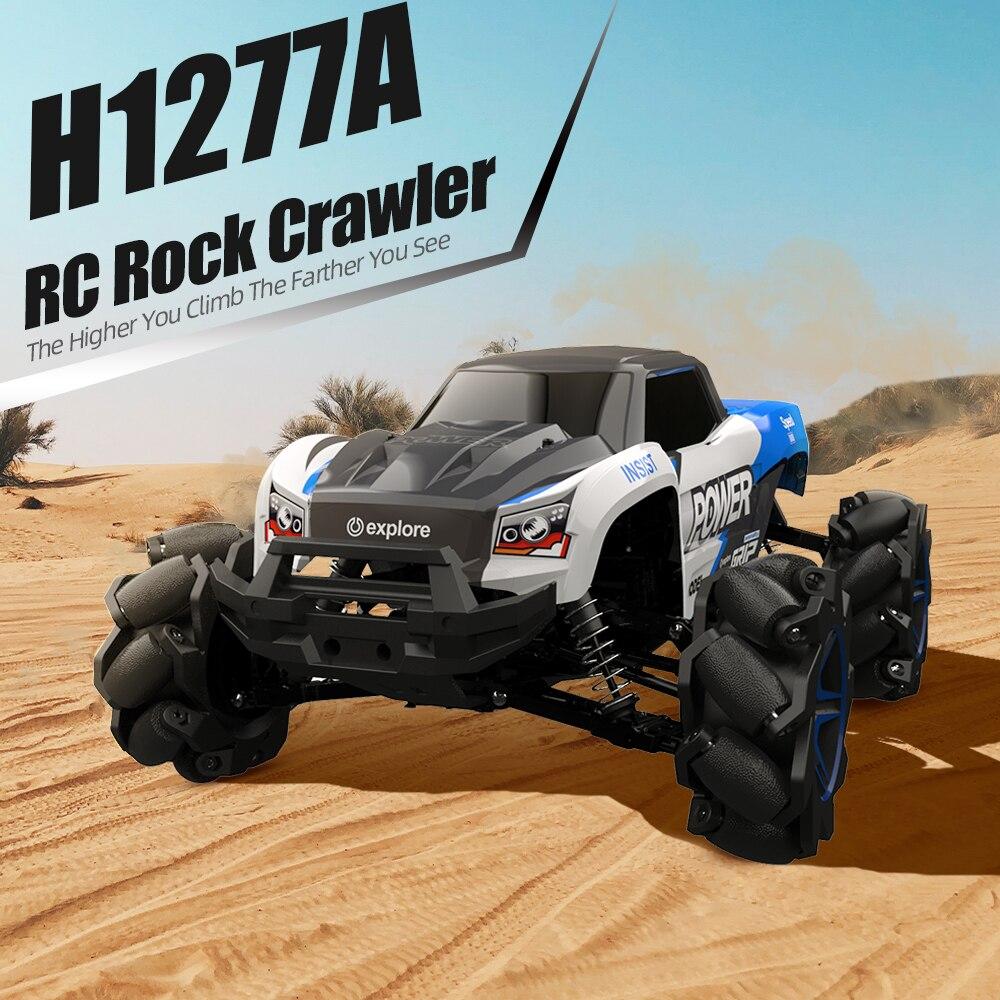 1 12 RC Car 4 Motors 4WD Stunt Drift Climbing Car High Speed Mecanum Wheel RC