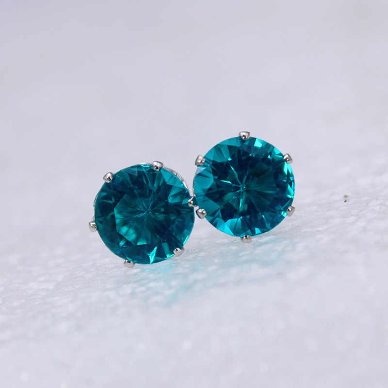 2019 marke schmuck luxus österreichischen kristall ohrringe für frauen Silber für frauen stud ohrringe für mädchen geschenk