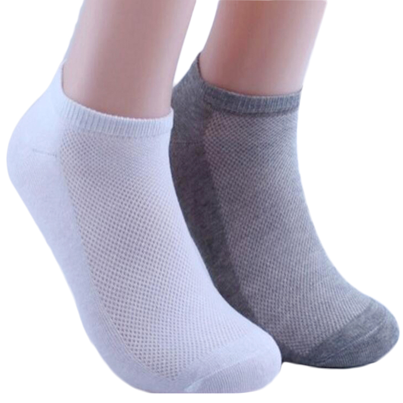 5Pair Women's Socks Boat Couple Unisex Mesh Woman Socks Female Summer Women Ankle Socks Short White Gray Black Chaussette Sokken