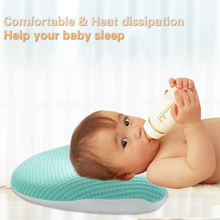 2019 New Newborns Baby Tensile Pillow Memory Heat Dissipation Spring Autumn Summer Pillow For Baby Gift  0-12m U Type & Arc Type