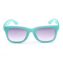 Fashion Sunglass Hot Sale Gradient Boys UV400 Multicolor Goggle for Children Cute Girls Polycarbonate Children Sunglass