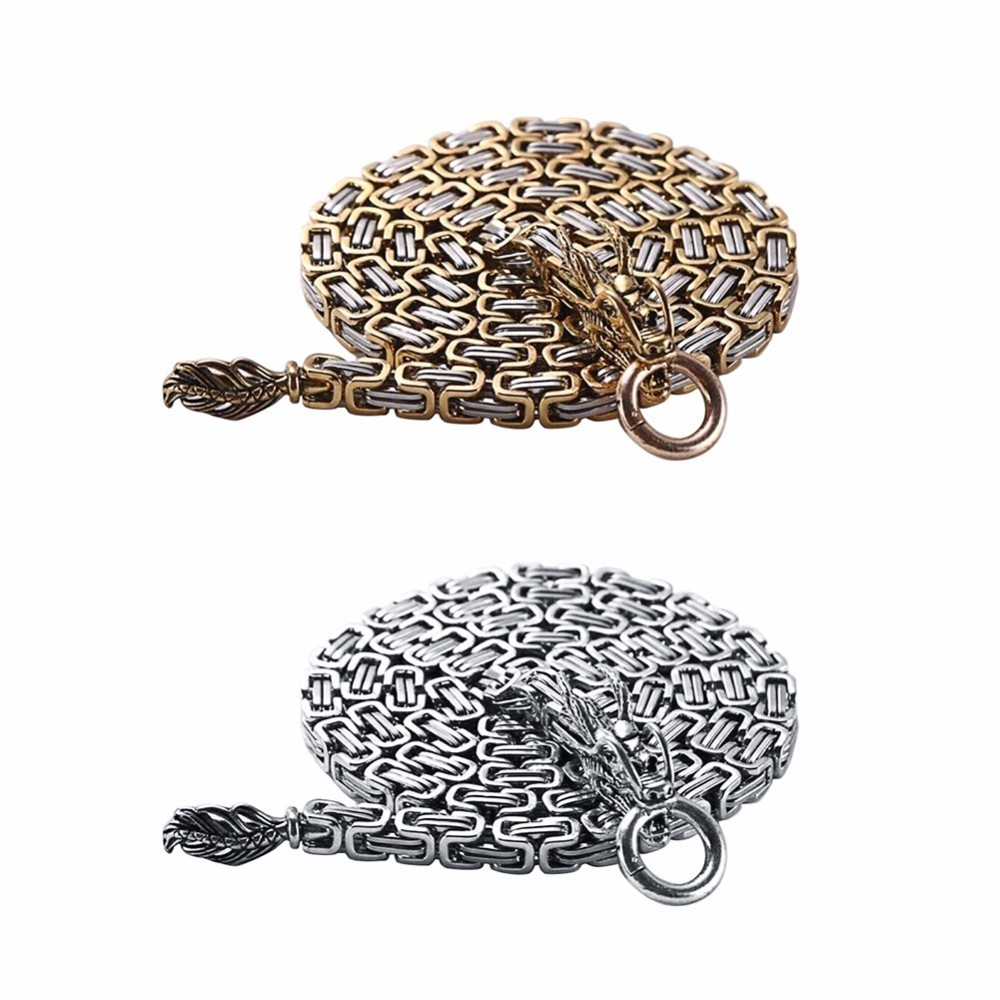 86-101CM All Metal Outdoor Self-defense EDC Tactical Bracelet Escape Tool Titanium Steel Decorative Chain Self-defense Bracelet