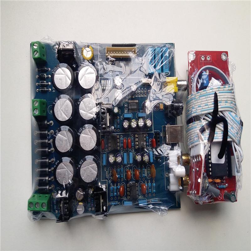 Prix pour DAC décodeur conseil PCM1794 + AK4118 Softwave contrôle DAC décodeur aucun USB Carte Fille