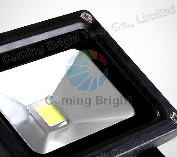 Waterproof 50W LED Flood Lighting outdoor Wash light Lamp wall washer black aluminium casing COB LED projector light